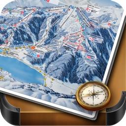 Zell Am See & Kaprun Piste and Offline Map