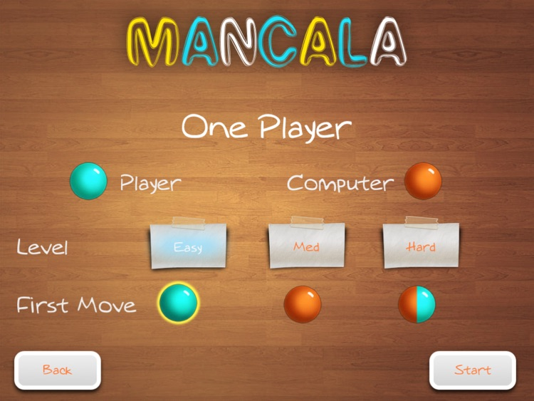 Mancala Free HD screenshot-1