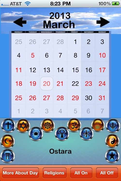 Spiritual Calendar screenshot-3