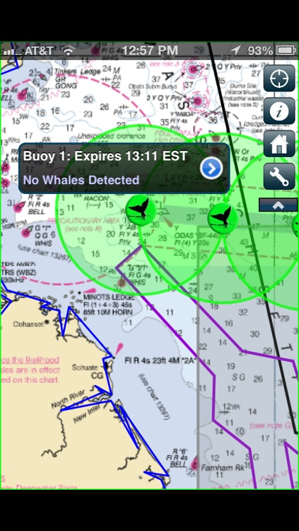 Whale Alert - Ship Strike Reduction for Right Whales