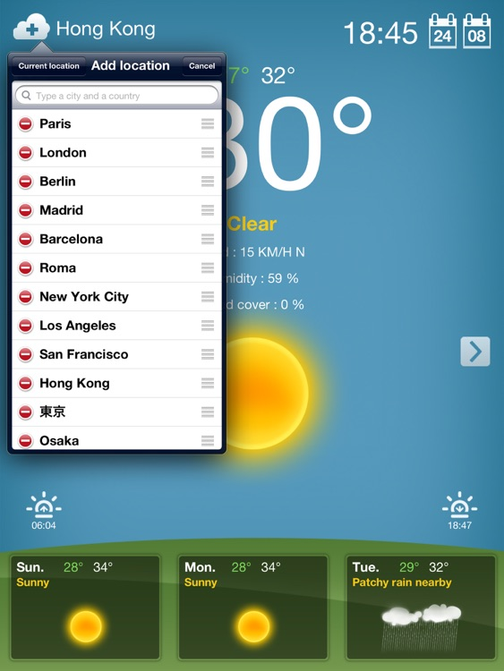 Weather for iPad screenshot-3