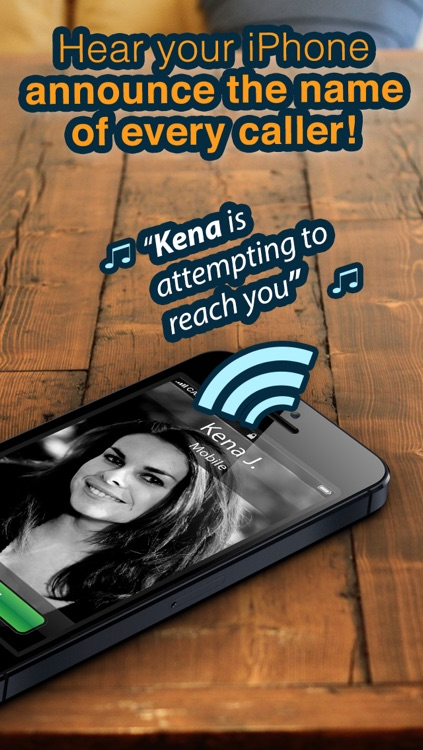 Caller ID Ringtones - HEAR who is calling