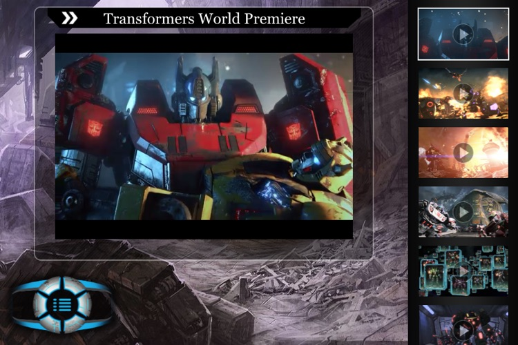 Transformers Fall of Cybertron Logs screenshot-3