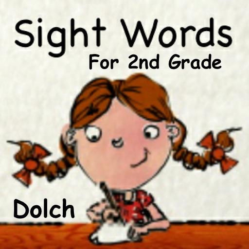 Sight Words For 2nd Grade - SPEED QUIZ iOS App