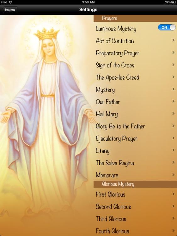Rosary HD screenshot-4