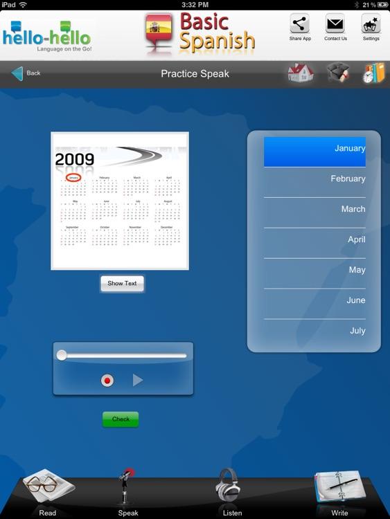 Learn Spanish Vocabulary HH screenshot-4