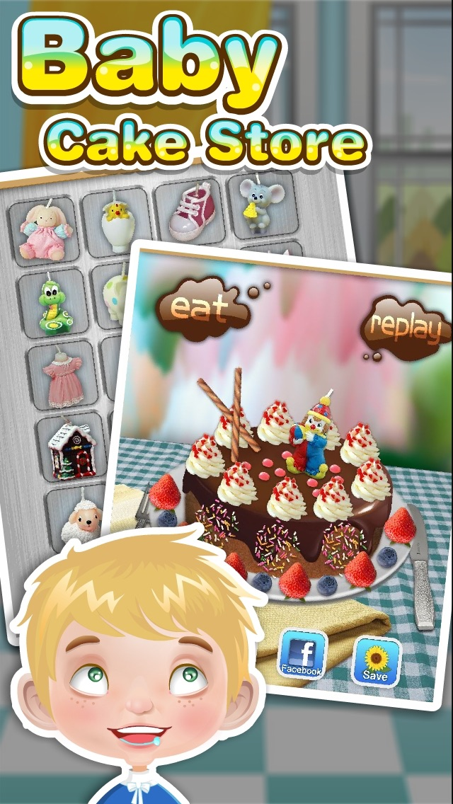 Baby Birthday Cake Maker Cooking Games Revenue Download