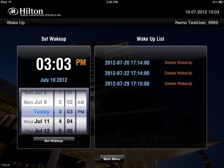 Hilton Bursa screenshot-2