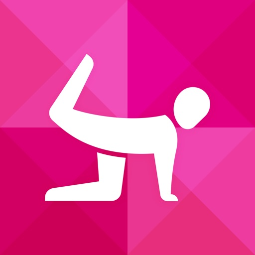 Instant Butt Trainer : 100+ butt exercises and workouts for free,  quick mobile personal trainer, on-the-go, home, office, travel powered by Fitness Buddy and Instant Heart Rate