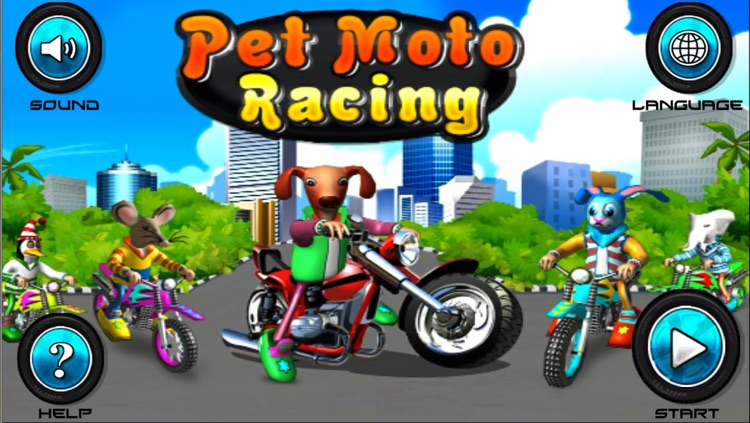 Pet Moto Racing ( 3D bike kids games )