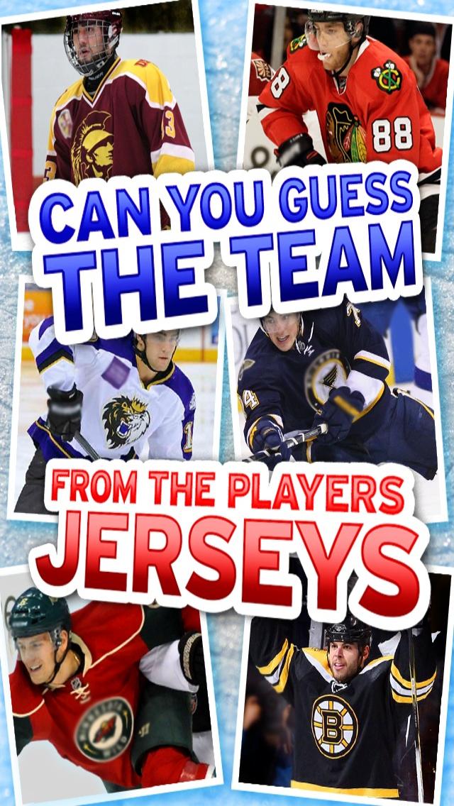 Ice Hockey Quiz - Top Fun Jersey Uniform Game screenshot