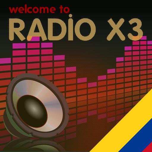 Las Radios de Colombia - X3 Colombia Radio