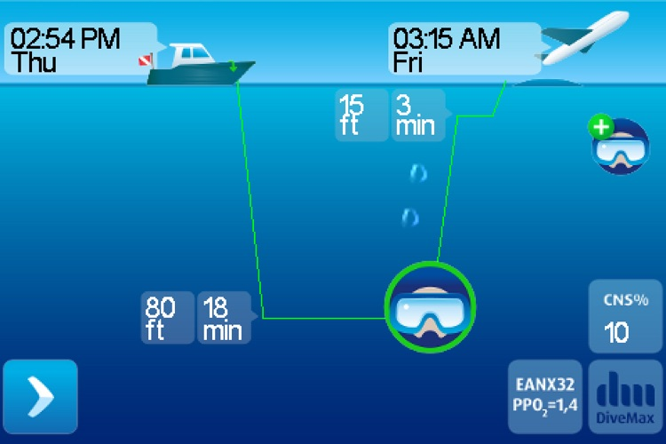 DiveMax NITROX Dive Planner screenshot-0