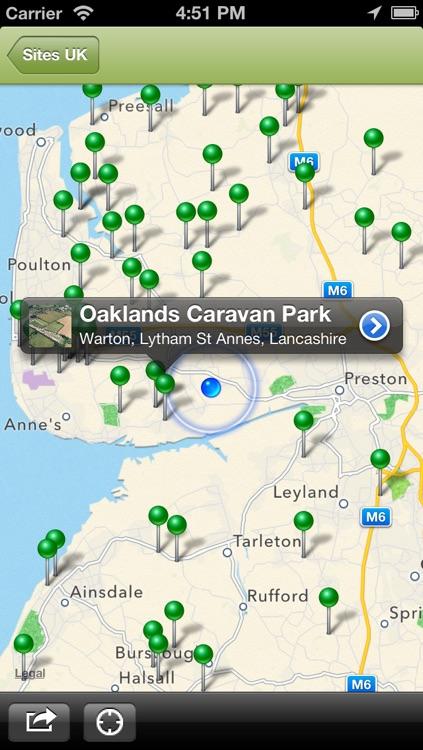Sites UK Lite - Caravan and Camping Sites in the UK screenshot-3