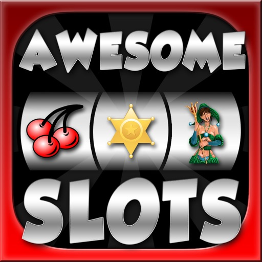 Awesome Slots Machine - Mega Edition with Prize & Bonus Wheel Casino Experience