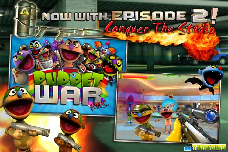 Puppet War:FPS screenshot-1