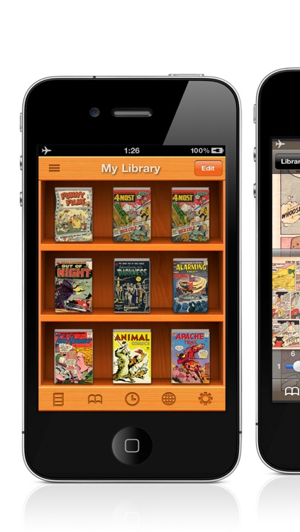 PDF/Comic Reader Bookman Pro for iPhone screenshot-0