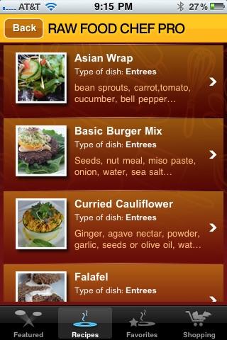 RAW FOOD CHEF PRO screenshot-3