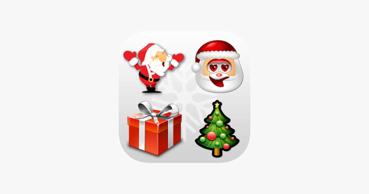christmas emoji animated emoticon on the app store