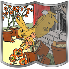 Activities of The Tale of Peter Rabbit with Puzzle Pictures