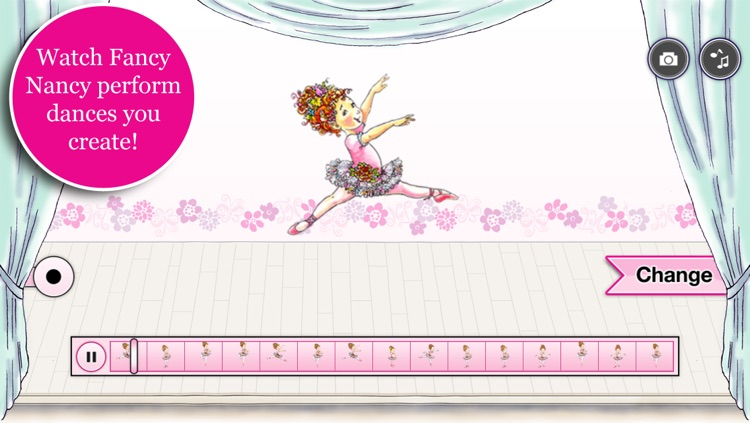 Fancy Nancy Ballet School screenshot-2