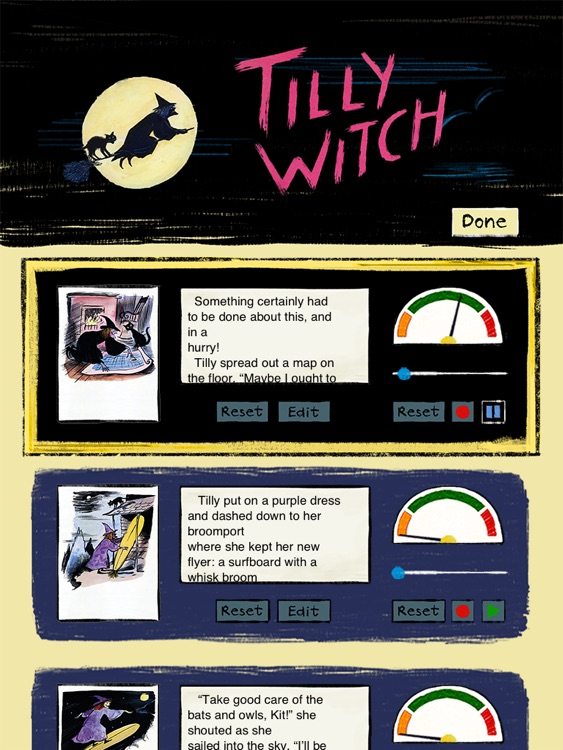 "Tilly Witch - A classic Halloween story book for kids by the author of Corduroy Don Freeman (""Lite"" version by Auryn Apps) screenshot-3"