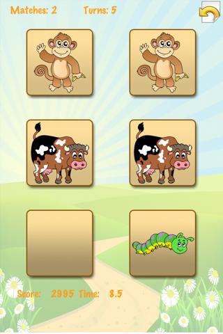 Animals Match!