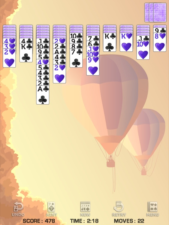Spider Solitaire for iPad screenshot-3
