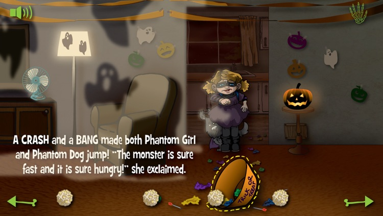 Violet and the Candy Thief - Interactive Halloween Storybook screenshot-3