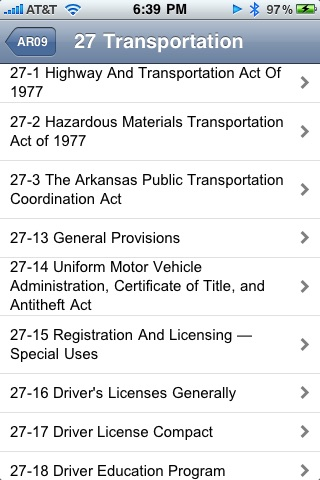 Arkansas Code of 1987 ARCode09 screenshot-3
