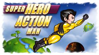 Super Hero Action Man - Best Fun Adventure Race to the