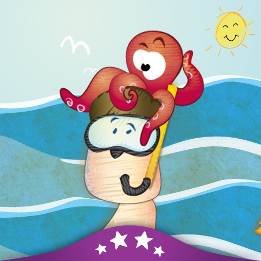 A Day at the Beach - Children's Story Book icon