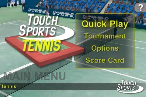 TouchSports™ Tennis screenshot-3