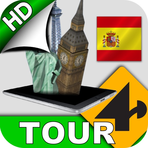 Tour4D Barcelona HD icon