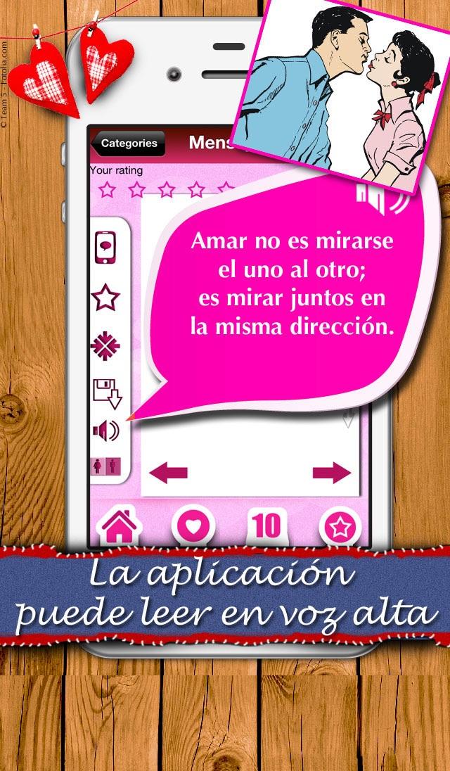 """Mensajes de Amor - Un """"Te Amo"""" para cada día y todas las situaciones Screenshot"""
