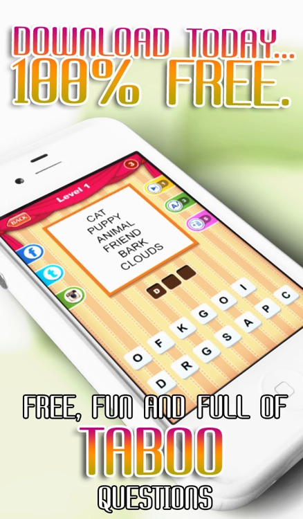 Allo! Guess the Word Association - Taboo Style Quiz and Charades Trivia screenshot-4