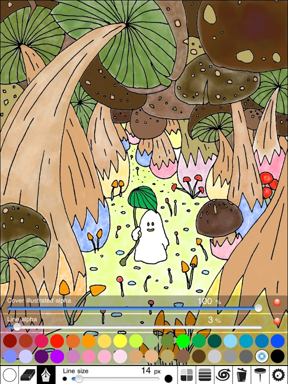 Cutie Monster Coloring Chapter 1 Lite