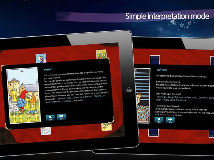 TarotCafe HD screenshot-4