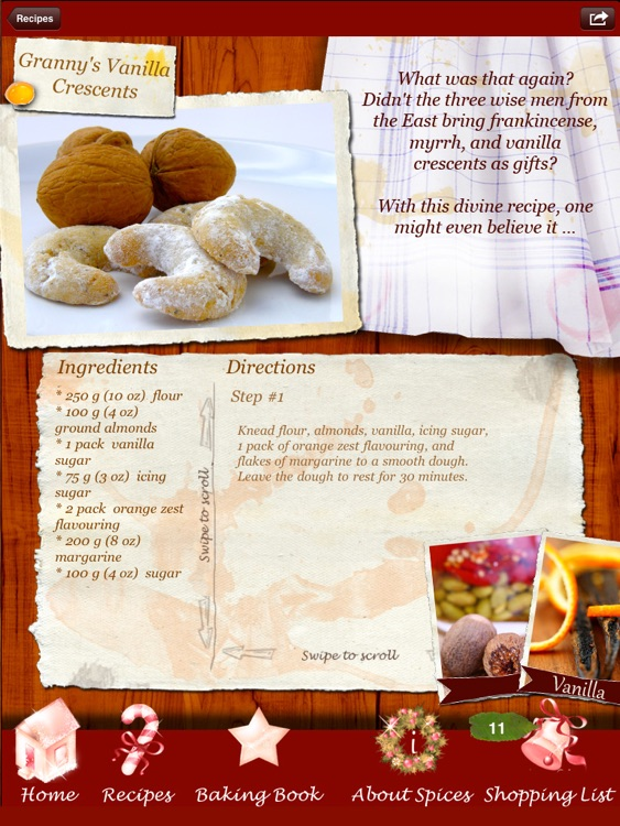 Christmas Cookies - Heavenly Holiday Recipes Made by Angels! screenshot-1