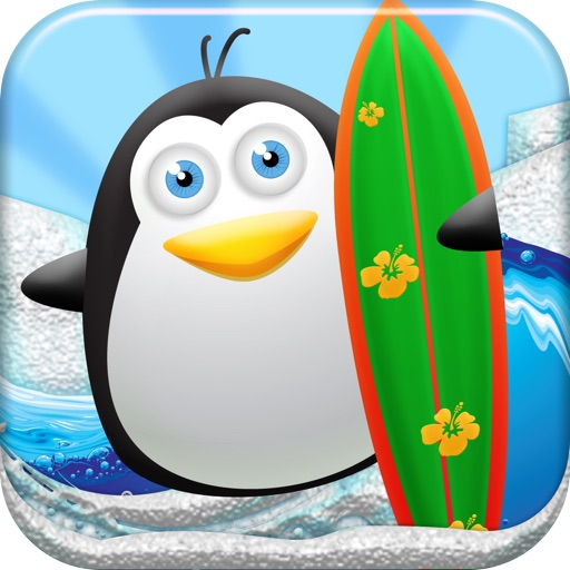 A Surf & Twerk Arctic Adventure - FREE Surfer Game icon