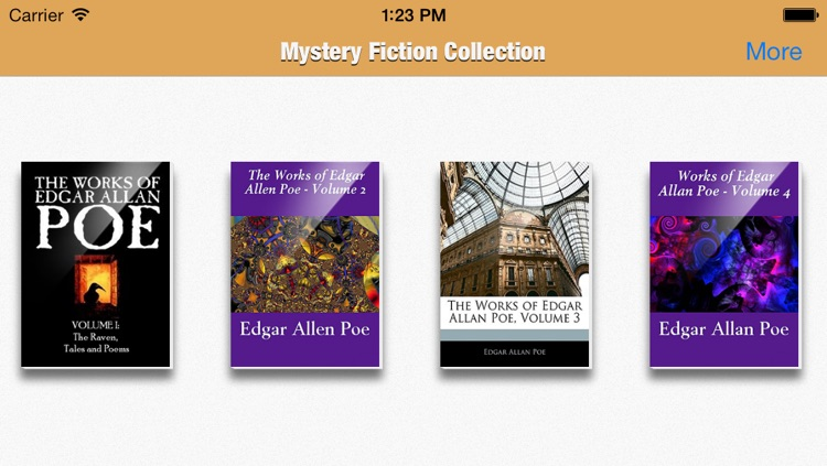 Mystery Fiction Collection