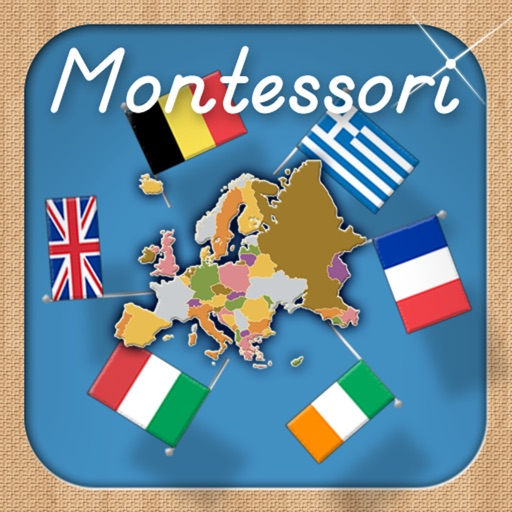 Flags of Europe - A Montessori Approach to Geography