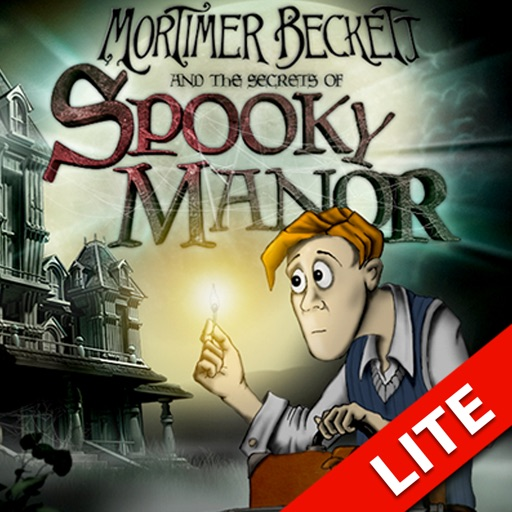 Mortimer Beckett and the Secrets of Spooky Manor for iPad LITE