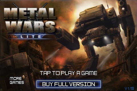 MetalWars Lite screenshot-0