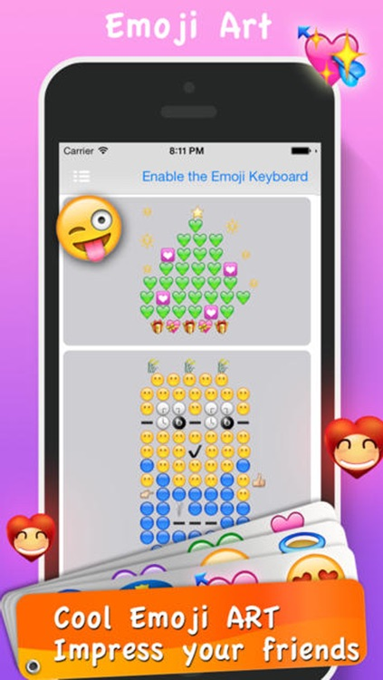 Emoji Emoticons & Animated 3D Smileys PRO - SMS,MMS Faces Stickers for WhatsApp screenshot-2