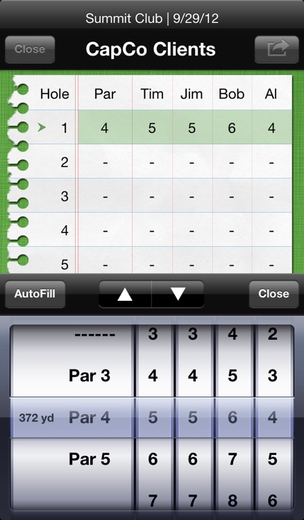 Birdies: Golf Scorecard screenshot-1