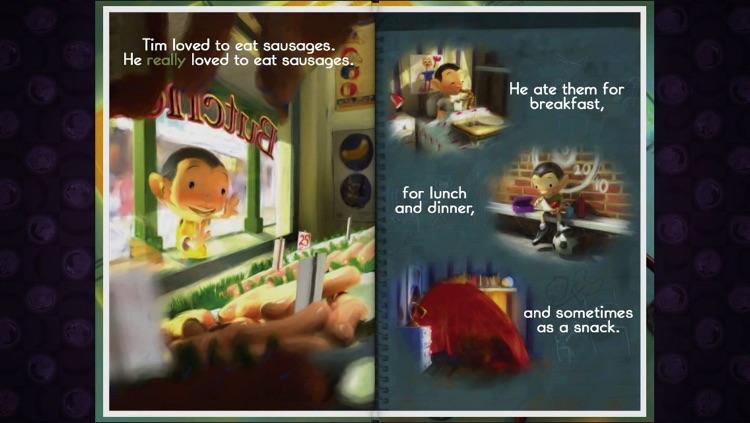 Food Fight! - An Interactive Book by Glenn Melenhorst