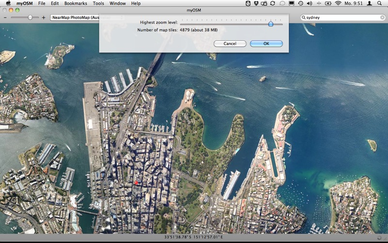 myOSM скриншот программы 2