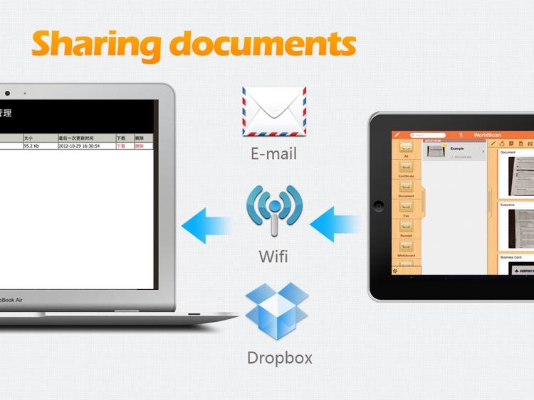WorldScan HD - Scan Documents & PDF screenshot-3