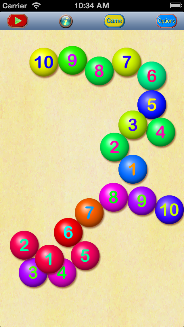 Counting Beads Intro screenshot two